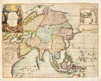 L'Asie Dressée sur les NouvellesObservations Faites en toutes les Parties de la Terre et Rectifieés.