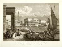 Veduta di Venezia presa dalla Dogana