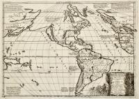 Atlantis Insula a Nicolao Sanson Antiquitati restituta nunc demum majori forma delineate et in decem regna…distribute…ex conatibus Gulielmi Sanson…