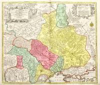 Amplissima Ucraniae regio Palatinatus Kioviensem et Braclaviensem complectens cum adiacentibus provinciis…