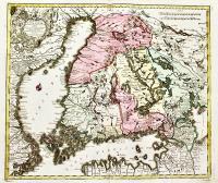 Magni Ducatus Finlandiae Russiae partim, partim Sueciae subjeci; Sinus item Bothnici ac Finnici nove et accurata delineatio Calamo et sumtibus