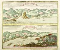 Memorabilis Danubii Cataracta vulgo der Strudl, 2 ½ milliaribus ab urbe Ipsio, in confinio superioris et infer. Austriae-Notabilis Danubii vortex, vulgo der Würbel…