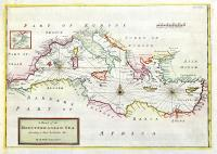 A chart of the Mediterranean Sea according to Mons. Berthelot & c.