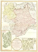 A new map of the Dominions of the King of Sardinia from the original published at Turin...