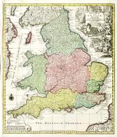 Britanniae sive Angliae Regnum.