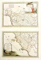 La Parte Settentrionale (-La Parte Meridionale) del Gran Ducato di Toscana che comprende porzioni dello Stato Fiorentino e del Territorio Pisano con la Repubblica di Lucca.