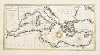 Karte des Mittellaendischen Meers nach astronomischen Beobachtungen neu herausgegeben…