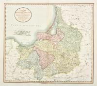 A new map of the Kingdom of Prussia with its divisions into provinces and governments from the latest authorities