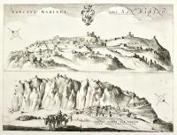 Sanctus Marinus italicè San Marino ville de l'Etat de l'Eglise, dans le Duchè d'Urbin
