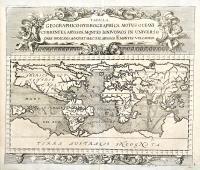 Tabula geographico-hydrographica motus oceani currentes, abyssos, montes igniuomos in universo orbe indicans…