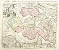 Zelandia comitatus novissima et accuratissima delineatio mappa geographica…