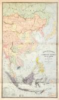 Asie orientale comprenant l'empire chinois et le Japon les etats de l'Indo-Chine et le grand archipel d'Asie