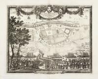 Urbs Warsavia Sedes Regum Poloniae ordinaria eo statu repraesentata quo a S.R.M. Sueciae d. 30 Aug. An.° 1655 occupabatur.