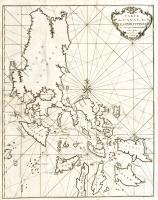 Carte du Canal des Iles Philippines par lequel passe le Galion de Manille, et les Isles voisins de ce canal