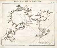 Detailed chart of Manilla Bay and environs, including placenames, soundings, etc.
