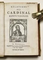 Relationi del Cardinal Bentivoglio