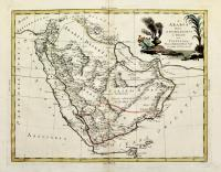 L'Arabia divisa in petrea, deserta e felice