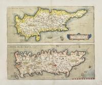 Cyprus insula. Candia olim Creta