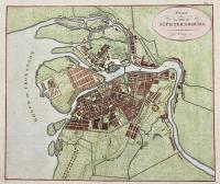 Plan de la ville de St. Petersbourg