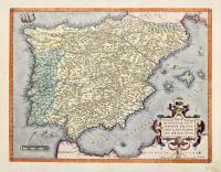 Regni Hispaniae Post Omnium Editiones Locuplessima Descriptio