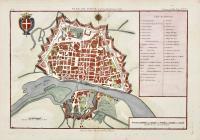 Plan de Pavie et de son Fauxbourg en 1768