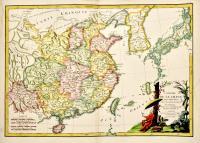 L'empire de la Chine d'apres l'Atlas Chinoise avec les isles du Japon.