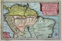 La Terre Ferme et le Perou avec le Pays des Amazones et le Bresil