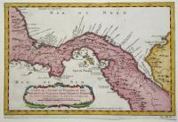 Carte de l'Isthme de Panama et des Provinces de Veragua Terre Ferme et Darien.