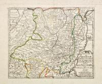 Duché de Modene de Regio et de Carpi avec la Seigneurie de la Cafargnana…