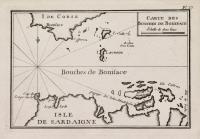 Carte des Bouches de Boniface