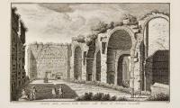Avanzi della famosa Cella Soleare nelle Terme di Antonino Caracalla