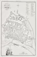 Pianta della città di Pavia