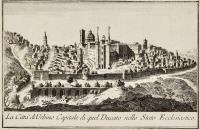 La città di Urbino capitale di quel ducato nello stato ecclesiastico