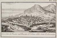 La città di Pesaro nel ducato d'Urbino dello stato ecclesiastico
