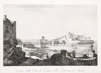 Veduta della città di Taranto nella provincia di Otranto
