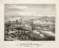 Ansicht von Jerusalem in Palestina
