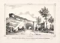 Intersecazione della strada postale colla rotaia Ferdinandea presso il ponte di Brenta