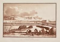 Vue de la Saline qui donne son nom a l'isle située a l'occident et a une lieue de Lipari