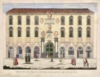 Prospetto dello studio di Padova detto il Bò