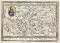 Typus Orbis Terrarum ad imitationem universalis Gerhardi Mercatoris