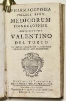 Pharmacopoeia collegii regii medicorum Edinburgensis