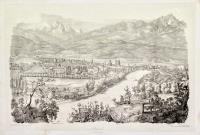 Innsbruck von Weiherburg gesehen