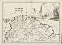 La terra ferma e la Guiana co' suoi dipartimenti delineata sulle ultime osservazioni