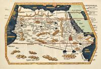 Aphricae tabula quarta continet Libyam & duas Aethiopias