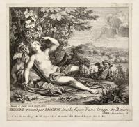 Erigone trompée par Bacchus sous la figure d'une Grappe de Raisin
