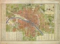Plan de Paris divisé en XII Mairies et 48 Quartiers
