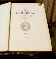 La Divina commedia di Dante Alighieri con tavole in rame.