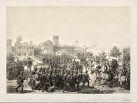 Resa di Peschiera, entrata vittoriosa delle truppe piemontesi nella Piazza