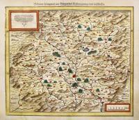 Boehemer Koenigreich mit Bergen und Waelden gerings umb Beschlossen