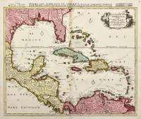 Insulae Americanae nempe: Cuba, Hispaniola, Iamaica, Pto Rico, Lucania, Antillae, vulgo Caribae, Barlo-et sotto-vento
